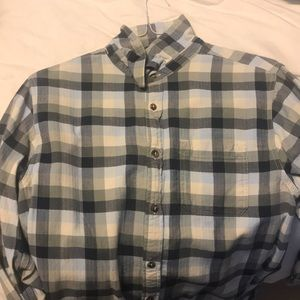 North Face Flannel Size M